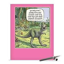 J0203 Jumbo Funny Mother's Day Card: Flintstones Chewables