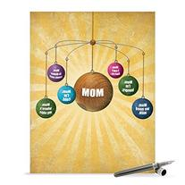 J0208 Jumbo Funny Mother's Day Card: Where Is Mom With