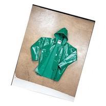 TINGLEY J41108 FR Rain Jacket with Hood, Green, XL