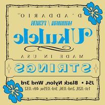 D'Addario J54 Ukulele Strings, Tenor Ukulele/Hawaiian