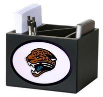 Jacksonville Jaguars Wooden Desk Organizer Pen Holder