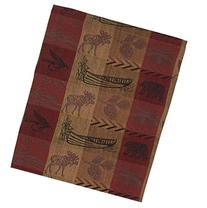 High Country Jacquard Woven Lodge Table Runner, 13 X 36