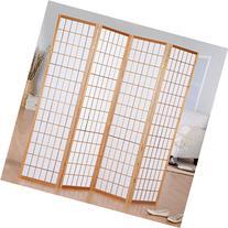 Jakun Shoji 4 Panel Room Divider