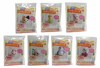 Daiso Japan New DIY Animal Key Chain Kit of Wool Felt, All
