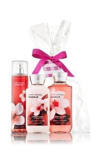 Bath & Body Works Japanese Cherry Blossom Gift Set - All New