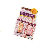 Japanese Washi Tape Ribbons & Bows 10m X 15mm, Set of 2