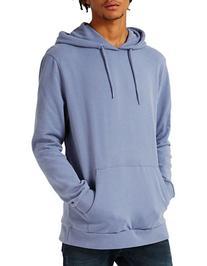 Topman Jax Hoodie-LIGHT BLUE-X-Small