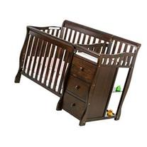 Jayden 4-in-1 Mini Convertible 2 Piece Crib Set, Espresso