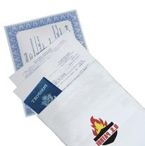 U.S. Patrol JB5076 Fire Resistant Document Bag