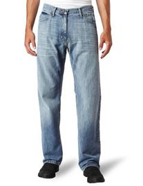 Nautica Jeans Men's Relaxed Light Hatch Jean, Hokline Blue,