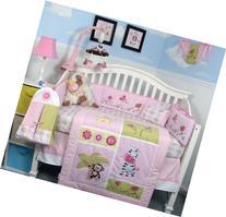Jelly Bean Jungle Baby Crib Nursery Bedding Set 15 pcs