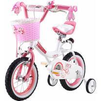 """16"""" Royalbaby Jenny Girls' Bike, Pink"""