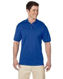 Jerzees Cotton Jersey Polo, 3XL, Royal
