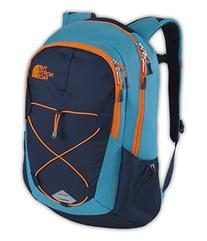 The North Face Jester Backpack Enamel Blue/Shocking Orange