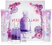 Halloween by J. Del Pozo for Women - 4 Pc Gift Set 3.4oz EDT