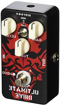 Joyo JF-02 Ultimate Overdrive Pedal, featuring true Bypass