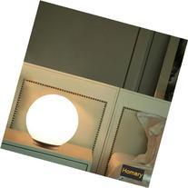JiaYouJia Modern White Glass Ball Table Lamp, Small Type