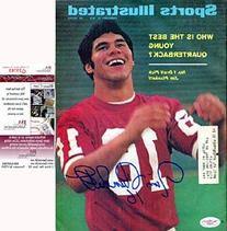 Jim Plunkett Autographed / Signed Sports Illustrated