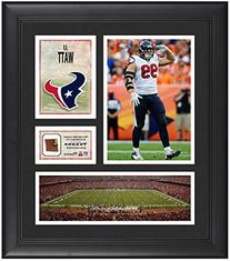 "JJ Watt Houston Texans Framed 15"" x 17"" Collage with Game-"