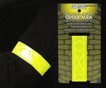 Jogalite Reflective Lime armband