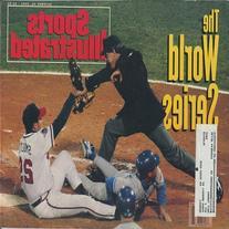 John Smoltz 1992 Sports Illustrated Magazine