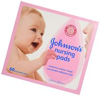 Johnson's, Nursing Pads, Contour Shape Pads, 60 ct