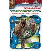Jurassic World Jointed Birthday Banner