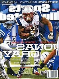 Jonas Gray New England Patriots Autographed November 24th,