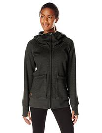 Burton Journey Fleece Jacket - Women's True Black Heather, M