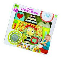 ALEX Toys ALEX Jr. Wooden Whimsy Blocks Baby Wooden