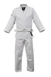 Fuji Judo Uniform, White, 3