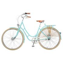 Viva Juliett Classic 7 City Cruiser Bicycle with Lights ,