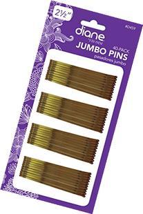 Diane Jumbo Pins 40S Bronze  Carded
