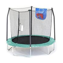 Skywalker Trampolines Jump N' Dunk Trampoline with Safety