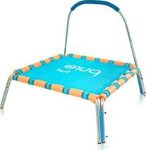 "Pure Fun Kids Jumper: 36"" Mini Trampoline with Handrail,"