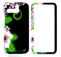 Jungle Flower with Pink Sakura Snap on Hard Protective Cover