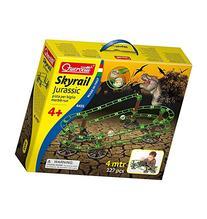 Quercetti Jurassic Skyrail - 127 Piece Dinosaur Themed