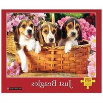 Just Beagles 1000 Piece Puzzle by Willow Creek Press