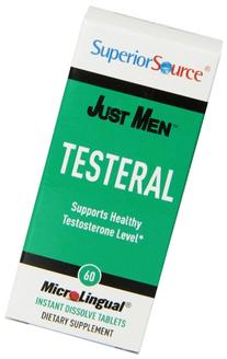 Superior Source Just Men Testeral Healthy Testosterone Level