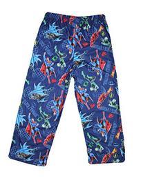 Justice League  Boys Polar Fleece Pajama Pants S/4-5 Blue