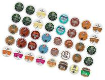 40 Count K Cup 2.0 Variety Sampler Pack - 40 Flavored K Cups