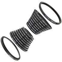 Filter Ring Adapter, K&F Concept 18pcs Camera Lens Filter
