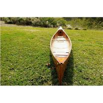Old Modern Handicrafts K013 18' Real Canoe in Brown with