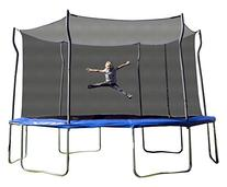 Kinetic Trampolines K14D-BE Trampoline with Enclosure, Blue