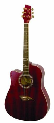Kona K1TRD Acoustic Dreadnought Cutaway Guitar in