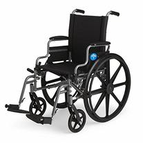 Medline K4 Standard Lightweight Wheelchair with Flip-Back
