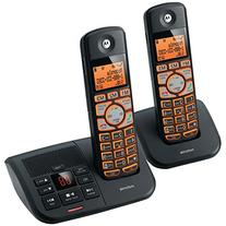 Motorola DECT 6.0 Cordless Big Backlit Button Phone with 2