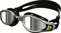 Aqua Sphere Kaiman EXO Mirrored Lens Goggles, Silver/Black