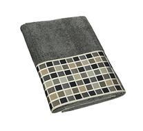 Avanti Linens Kaleidoscope Bath Towel, Granite
