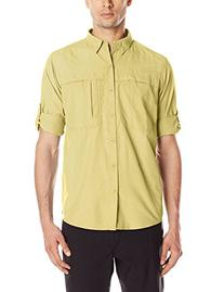 White Sierra Men's Kalgoorlie II Long Sleeve Shirt, Yellow